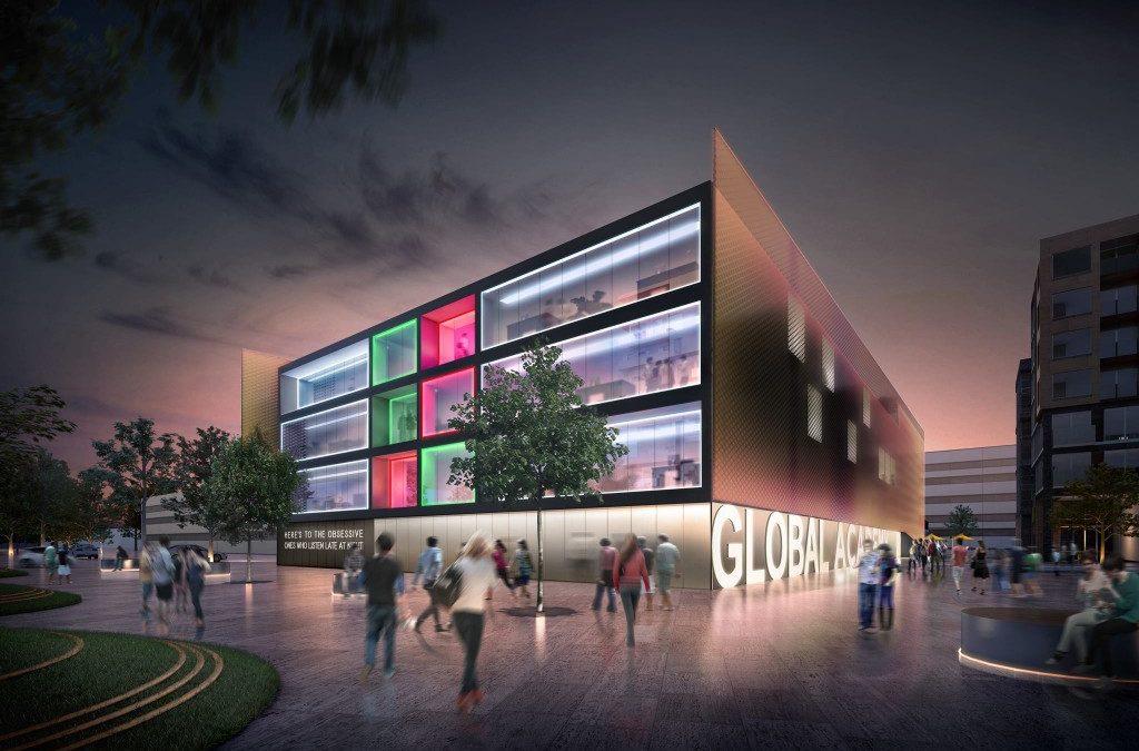 global academy school building plan