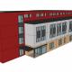 Modular School building plan drawing